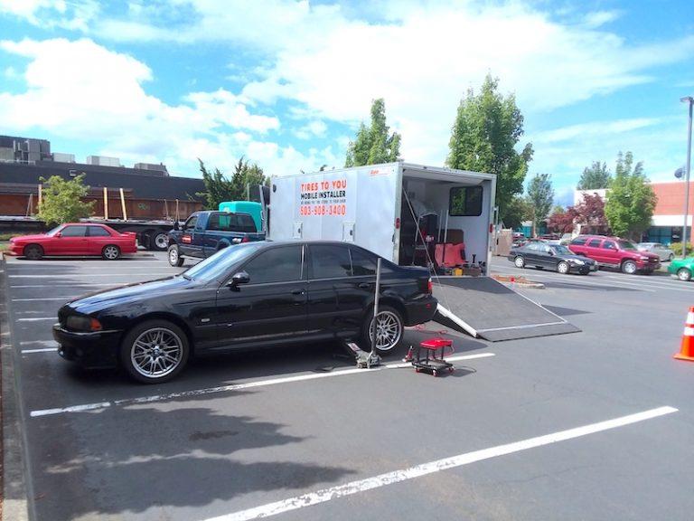 Mobile Tire Sales, Installation, and Repair Cornelius